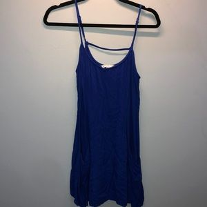 American eagle outfitters blue tunic